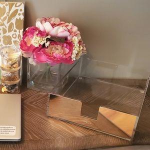 Kate Spade Strike Gold Letter Tray - NIB